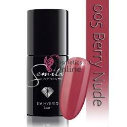 Oja UV Semilac 005 Berry Nude 7 ml